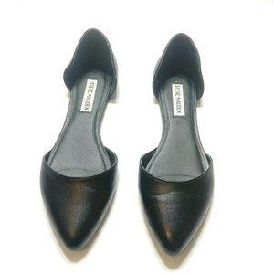 "Steve Madden ""Abiz"" leather flats size 8.5"
